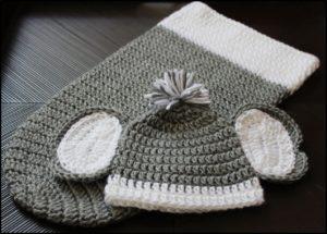 Elephant Hat Crochet Pattern - Ellie the Elephant – Ava Girl Designs | 215x300